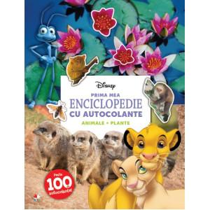 Disney. Prima mea enciclopedie cu autocolante: Animale. Plante