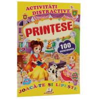 Prințese + 100 autocolante – Joacă-te și lipește