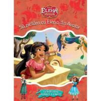 Elena din Avalor. Să pictam cu Elena din Avalor. Carte de colorat cu pensulă și acuarele