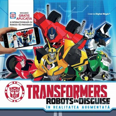 Transformers Robots în disguise. În realitatea augumentată