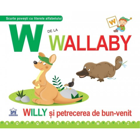 W de la Wallaby - Cartonată