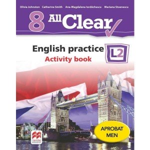 All Clear. English practice. Activity book. L 2. Lecția de engleză (clasa a VIII-a)