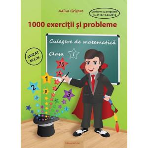 1000 de exerciții și probleme, Clasa I - Culegere de matematică