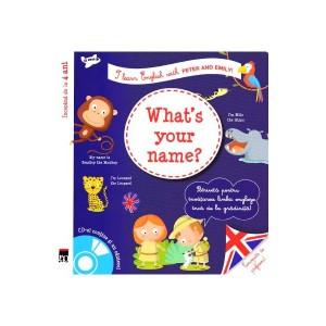 I learn English with Peter and Emily! What's your name?