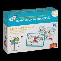 Învăț ușor la Franceză: 50 de hărți mentale - Volumul II - Cls. a III-a, a IV-a, a V-a