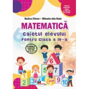 Matematică. Caietul elevului pentru clasa a IV-a