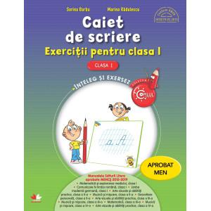 Caiet de scriere. Exerciții pentru clasa I