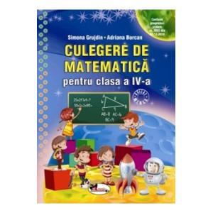 Culegere de matematică pentru clasa a IV-a