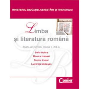 Limba şi literatura română-Manual pentru clasa a XII-a