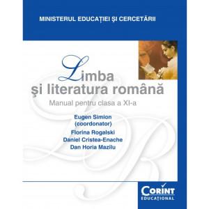 Limba şi literatură română - Manual pentru clasa a XI-a