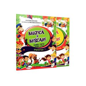 Muzică și mișcare. Manual pentru clasa a II-a (sem I+sem II, conține ediție digitală)