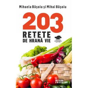203 rețete de hrană vie