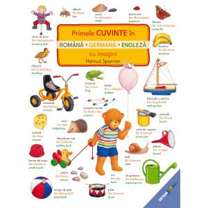 Primele cuvinte în română, germană, engleză cu imagini