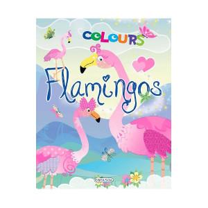 Flamingos colours: Bleu