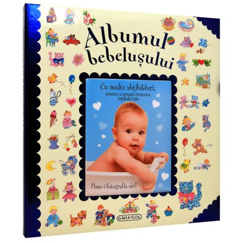 Albumul bebelușului (albastru)