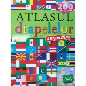 Atlasul drapelelor cu peste 200 de abțibilduri