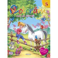 Colorăm 5 - Cai și ponei