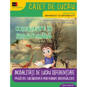 Comunicare în limba română. Cls. a II-a 2018 - 2019