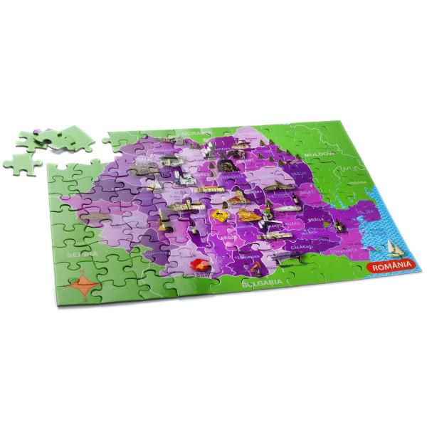 Puzzle Mapedia România MomKi