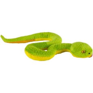 Jucărie de pluș șarpe cu clopoței 39 cm, Momki
