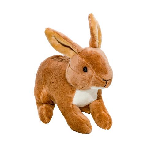 Jucărie de pluș iepure, 15 cm, Momki