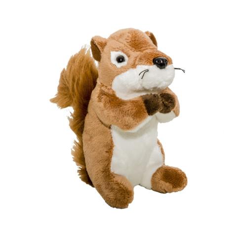 Jucărie de pluș veveriță 15 cm, Momki