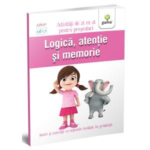 Logică, atenție și memorie 3-4 ani