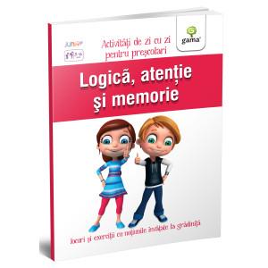 Logica, atenție și memorie 5-6 ani