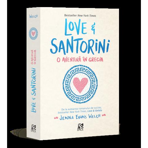 Love&Santorini. O aventură în Grecia