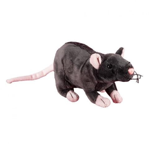 Pluș șobolan, 19 cm, Momki