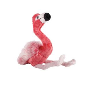 Pluș pasăre flamingo, 24 cm, Momki