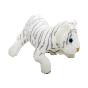 Pluș tigru alb, 14 cm, Momki