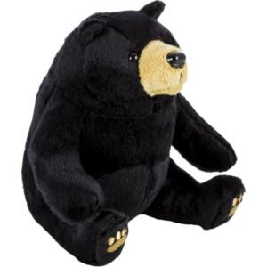 Pluș urs negru 15 cm, Momki