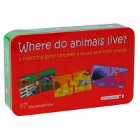 Puzzle - Unde locuiesc animalele, Momki