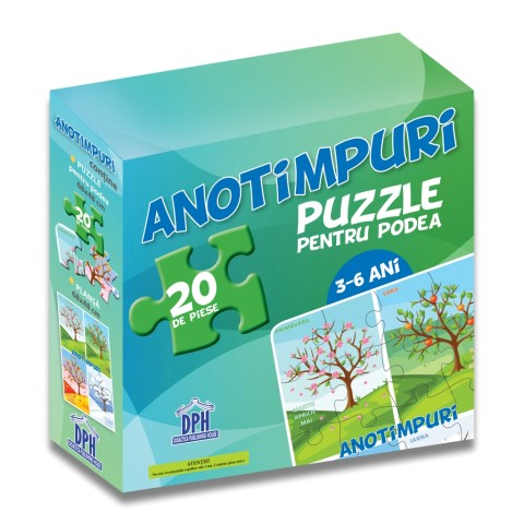 Anotimpuri (puzzle podea 50/70 + afiș 50/70)