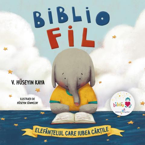Bibliofil: Elefănțelul care iubea cărțile