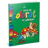 Carte de colorat cu ghicitori
