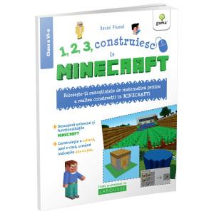 1, 2, 3, construiesc cu Minecraft