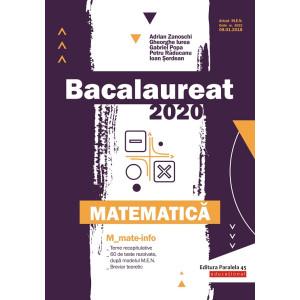 Bacalaureat 2020. Matematică M_Mate-Info