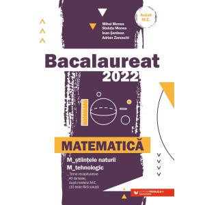 Bacalaureat 2022. Matematică M_ştiinţele-naturii, M_tehnologic