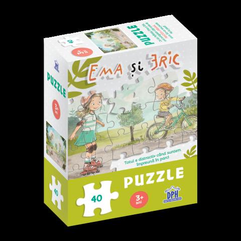 Ema și Eric în parc: Puzzle