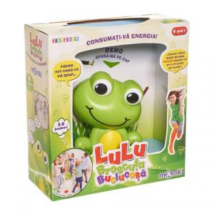 Jucărie Momki, Lulu Broscuța buclucașă