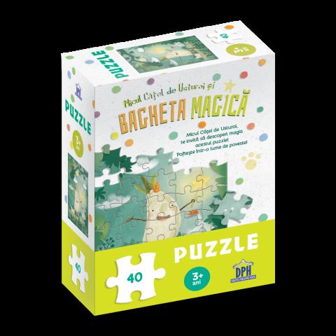 Micul cățel de usturoi și bagheta magică: Puzzle