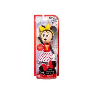 Papusă Minnie Mouse cu fundiță galbenă