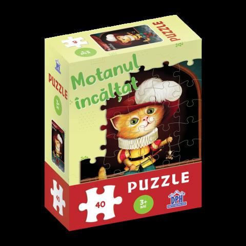 Motanul încălțat: Puzzle