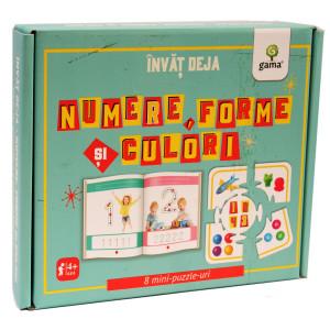 Învăț deja numere, forme și culori