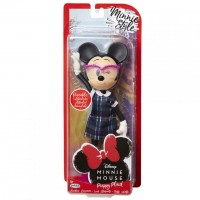 Păpușă Minnie Mouse școlăriță, 24 cm