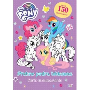 My Little Pony. Prietene pentru totdeauna. Carte cu autocolante
