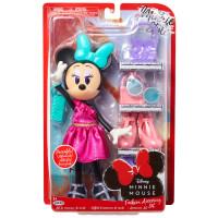 Păpușă Disney - Minnie Mouse, Set de accesorii la modă