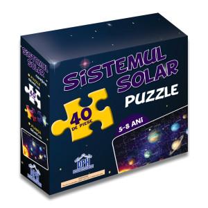 Sistemul solar (puzzle 50/70 + afiș 50/70)